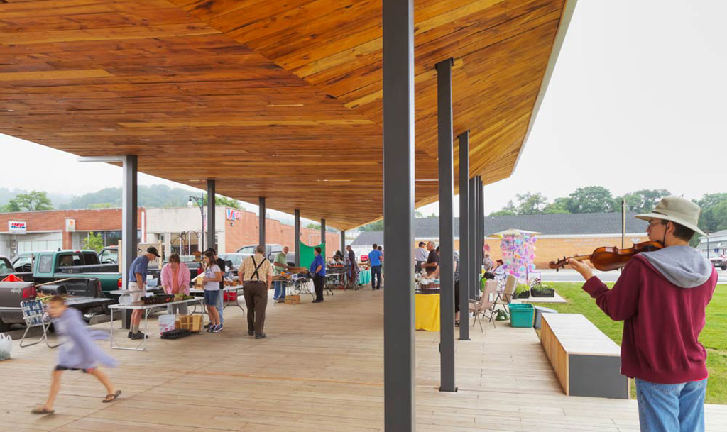 Covington Farmers Market Design Buildlab